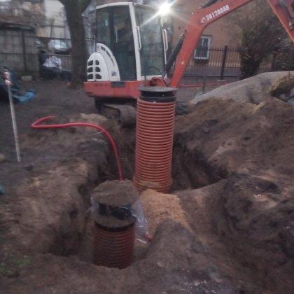 Lietus kanalizācijas izbūve Rīgā