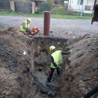 Pieslēgums pie pilsētas kanalizācijas
